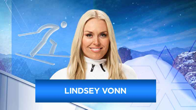 Lindsey Vonn spread grandfather's ashes at Olympics