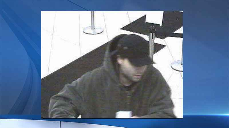 Rochester Police search for bank robbery suspect