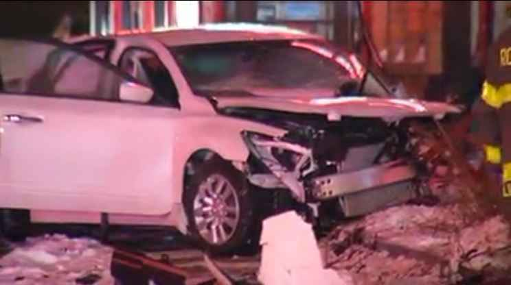 Three-car crash at busy Rochester intersection