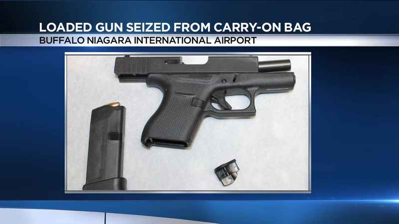 Loaded gun in carry-on bag at Buffalo airport