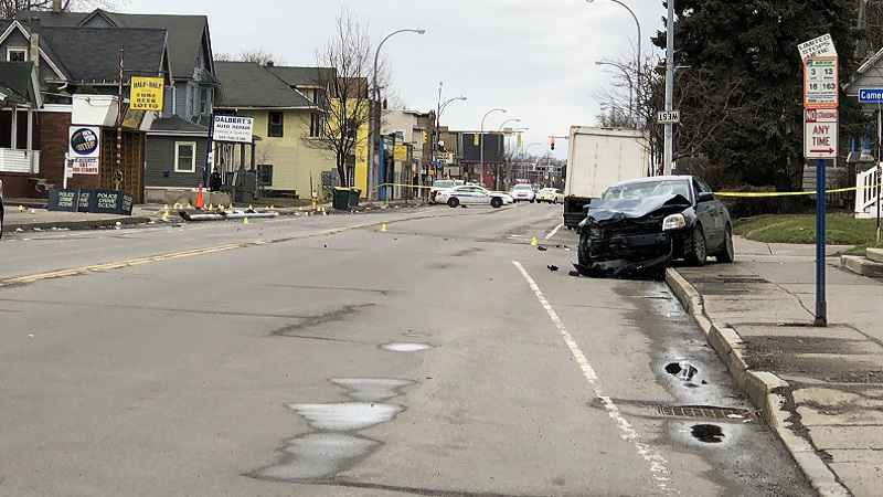 Person in custody after fatal vehicle/pedestrian crash on Lyell Avenue