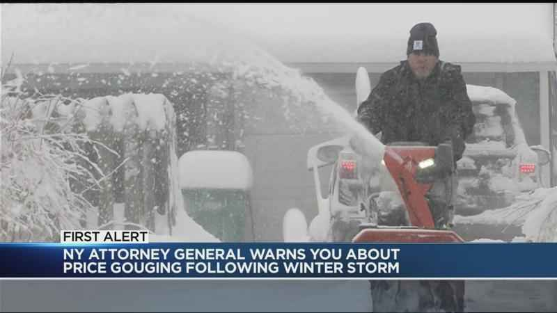 AG warns against price gouging following winter storm