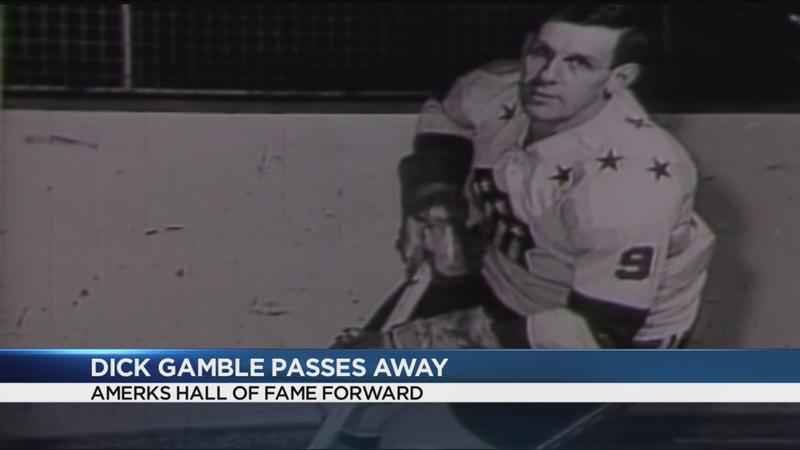 Amerks legend Dick Gamble dies at age 89
