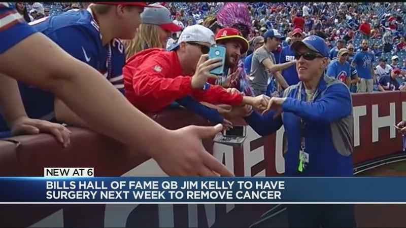 Bills' legend Jim Kelly set for surgery next week