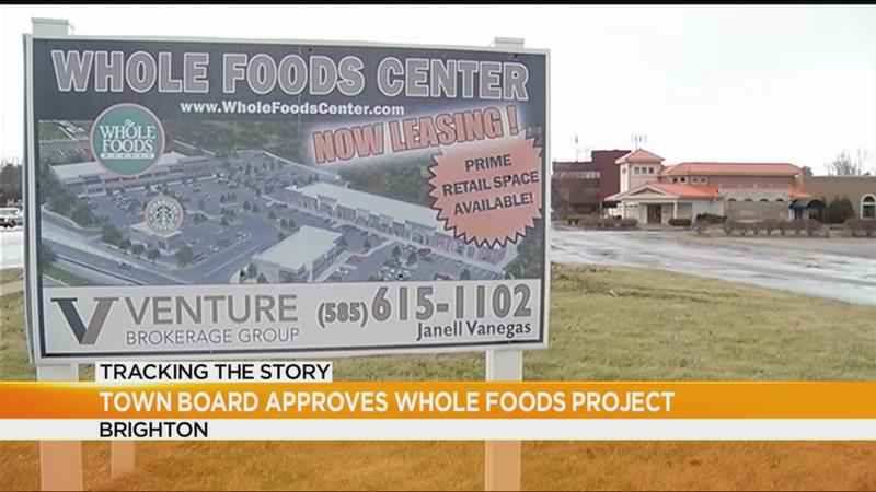 Brighton Town Board approves proposed Whole Foods project