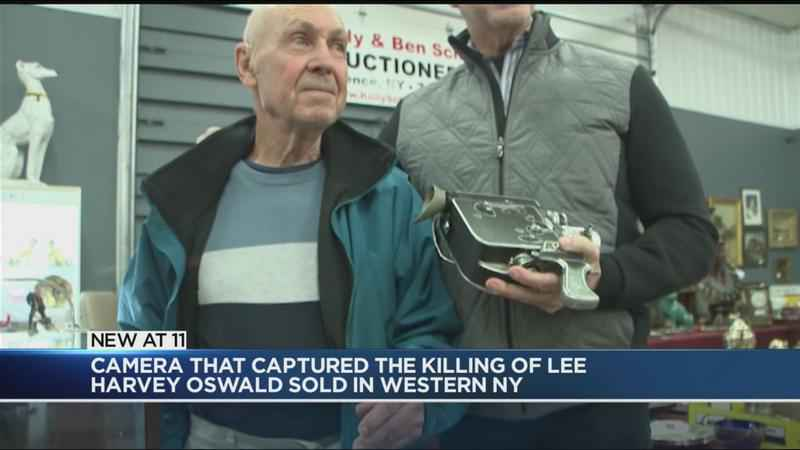 Camera that captured the killing of Lee Harvey Oswald sold
