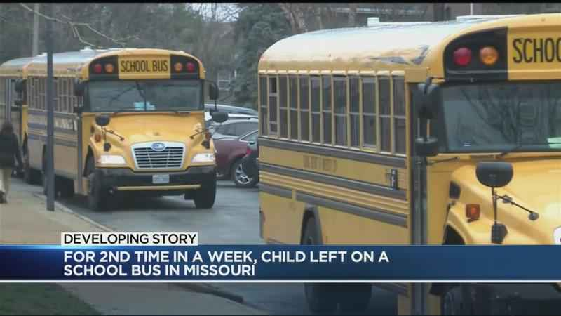 Child left on school bus for 8 hours in University City