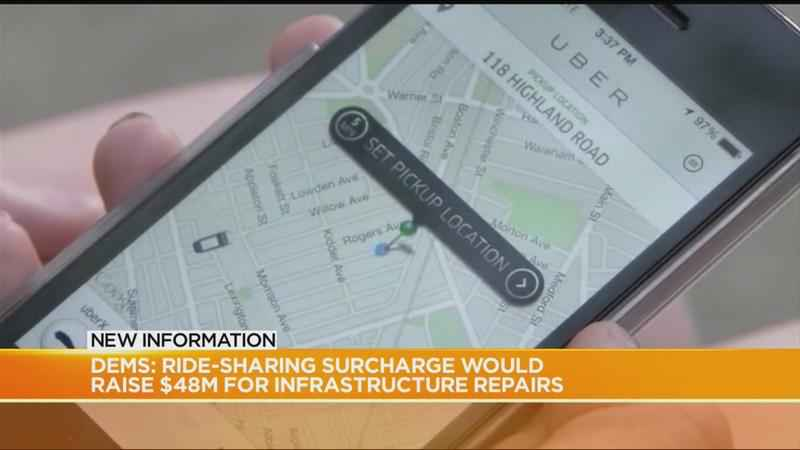 Dems push for ride-sharing surcharge to fund infrastructure repairs<br />