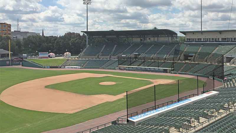 New netting at Frontier Field