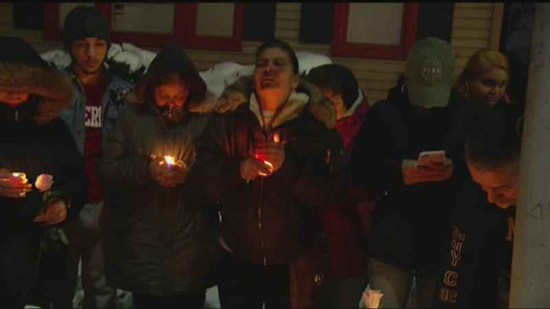 Family holds candlelight vigil for hit and run victim