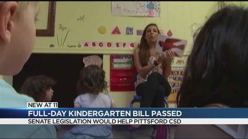 Full-day kindergarten bill passes New York State Senate