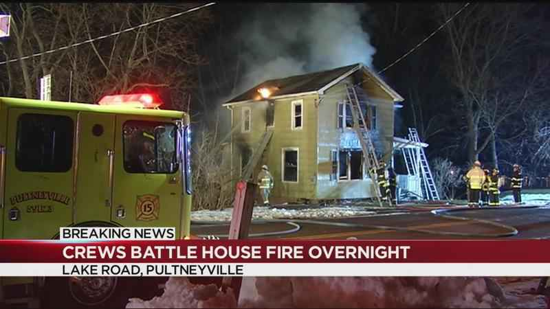 House in Pultneyville destroyed by fire