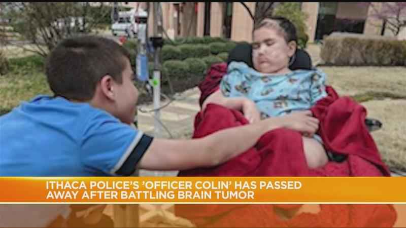 Ithaca Police's 'Officer Colin' passes away