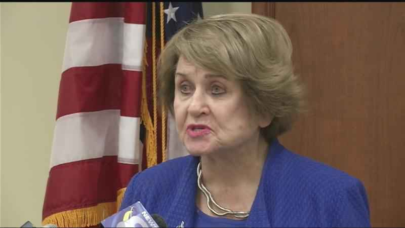 Rep. Slaughter suffers concussion after fall
