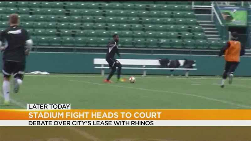 Rhinos owners, City of Rochester heading to court