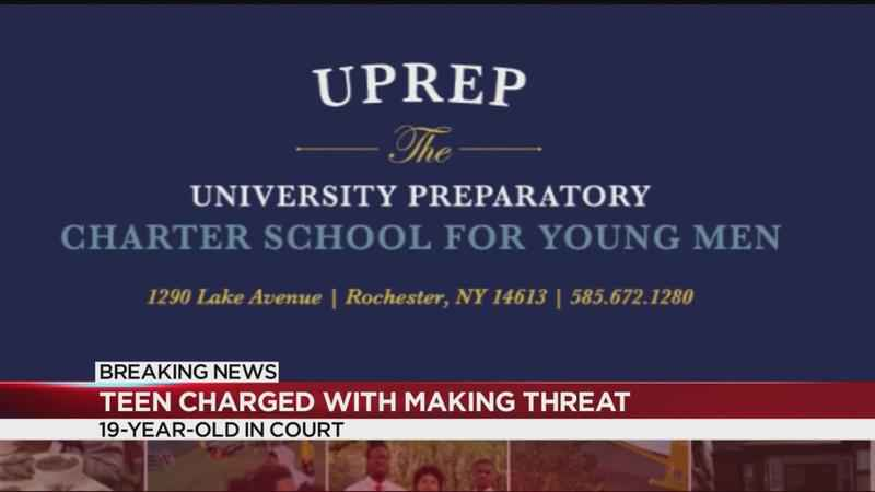 Rochester teen charged with making a terror threat