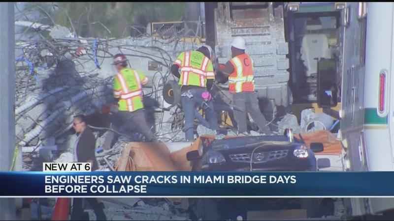 miami bridge collapsed