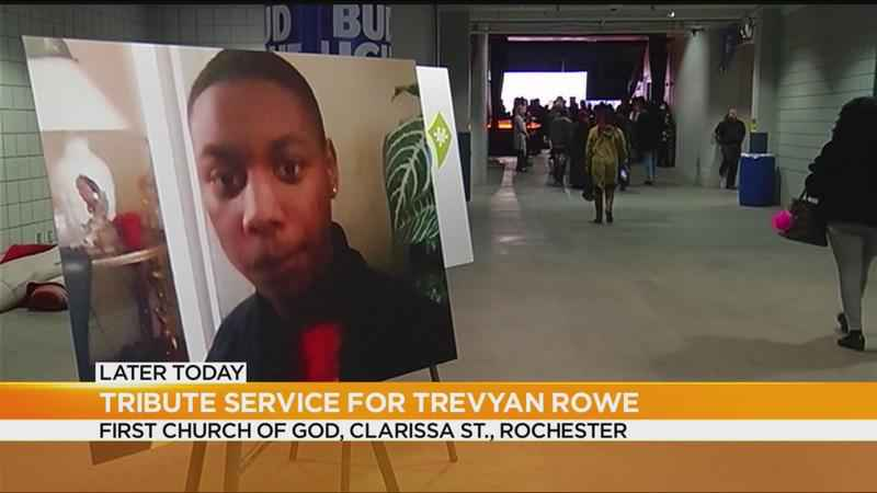Tribute service for Trevyan Rowe to be held Monday