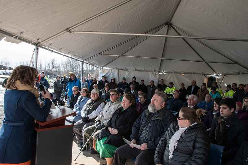 Town of Henrietta breaks ground on new library