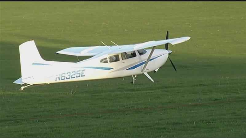 Airplane makes emergency landing in Perinton farm field