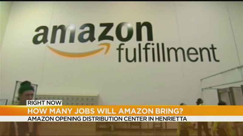 Amazon opening distribution facility in Henrietta