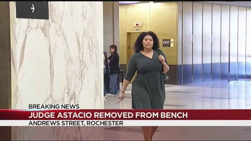 Commission on Judicial Conduct removes Judge Astacio from bench
