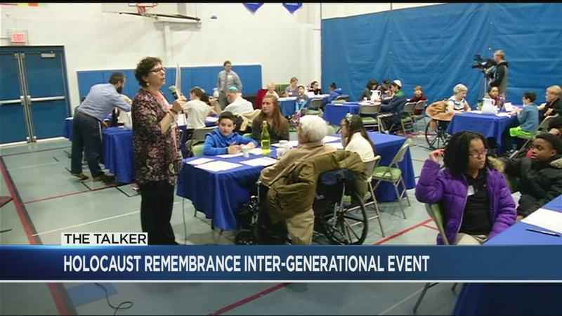 Community members remember those lost on Holocaust Remembrance Day