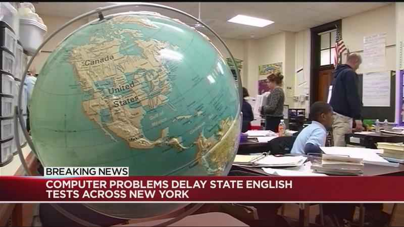 Computer problems delay state English tests across New York