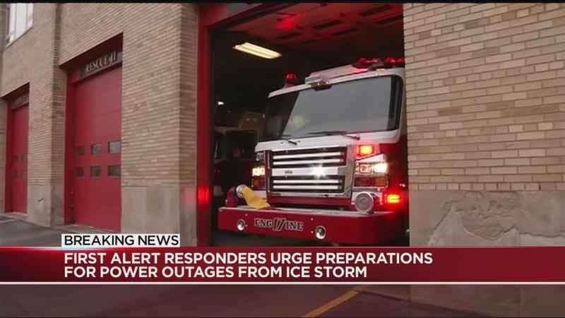 Emergency responders bracing for power outages as storm