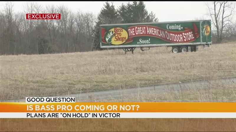 Good Question: Is Bass Pro Shops coming to Victor or not?