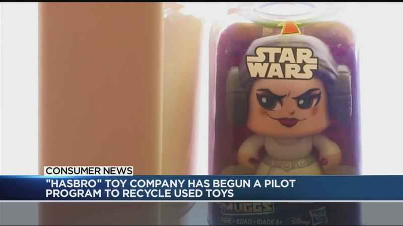 Hasbro launches toy recycling program<br />