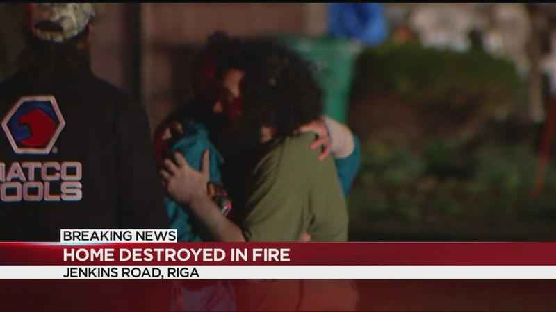 Home destroyed in overnight fire