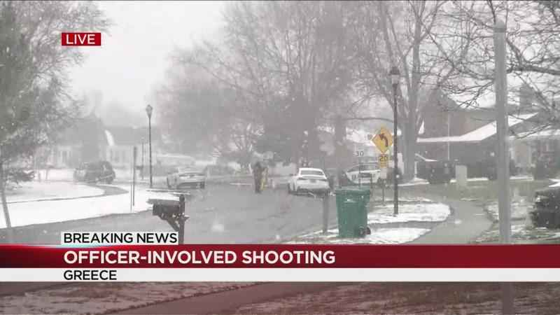 Man dead after officer-involved shooting in Greece
