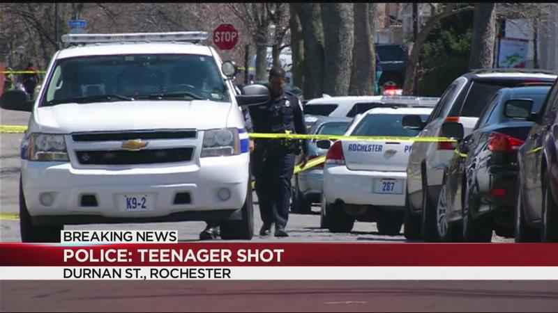 Police: Rochester teen shot on Durnan Street