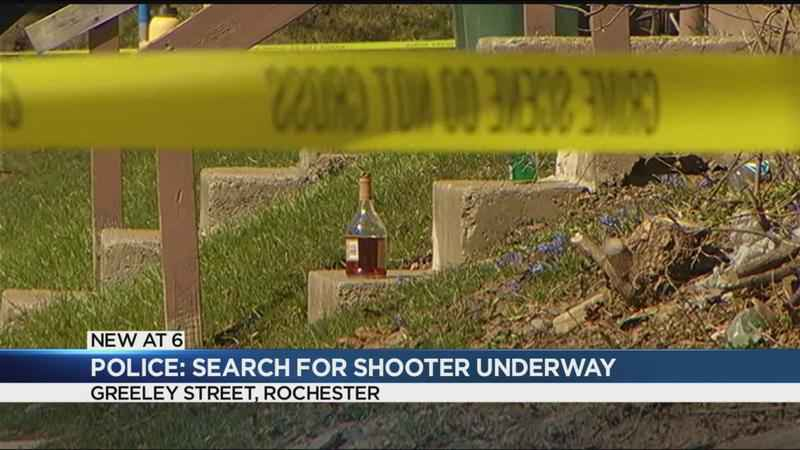Police looking for a suspect in Greeley Street shooting
