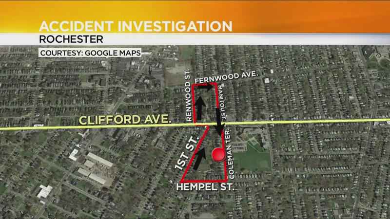 Police search for 2 suspects involved in Clifford Ave. hit-and-run