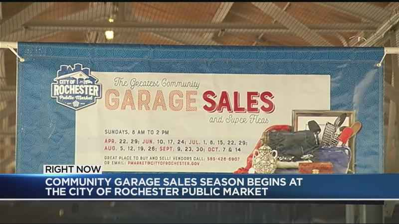 Rochester's Greatest Community Garage Sales kicks off