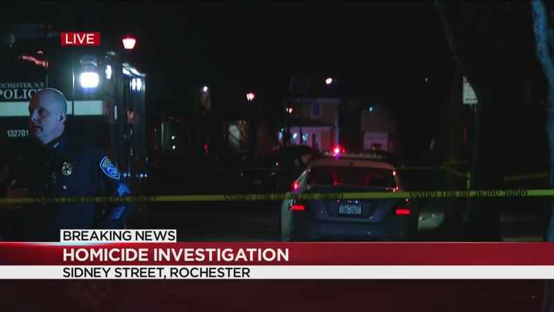 Rochester Police investigating Sidney Street homicide