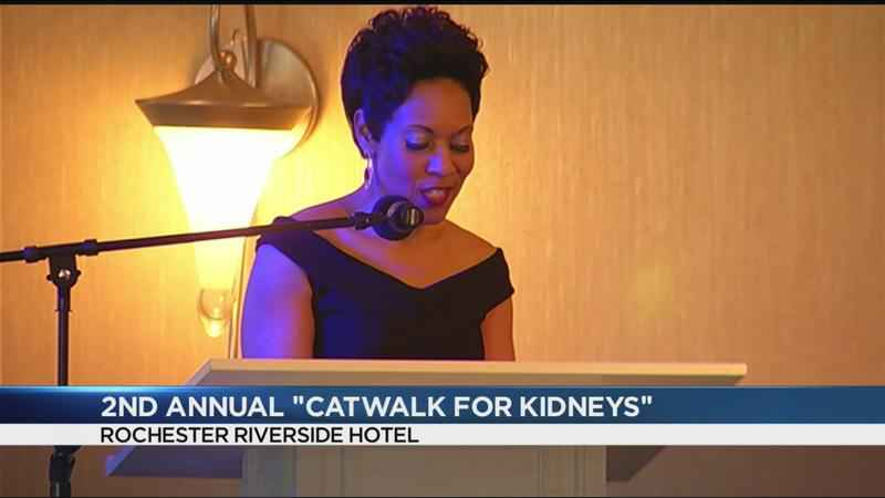 Rochester takes to the catwalk for kidney disease