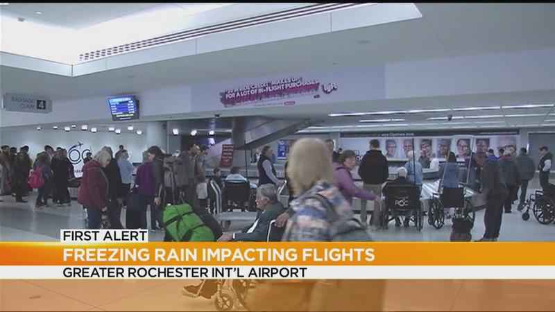 Several flights canceled in Rochester