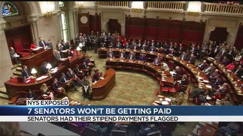 Some New York State Senators will not be paid