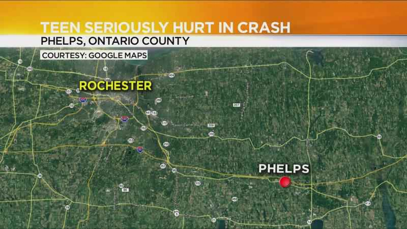 Midlakes High School student seriously hurt in Ontario County crash