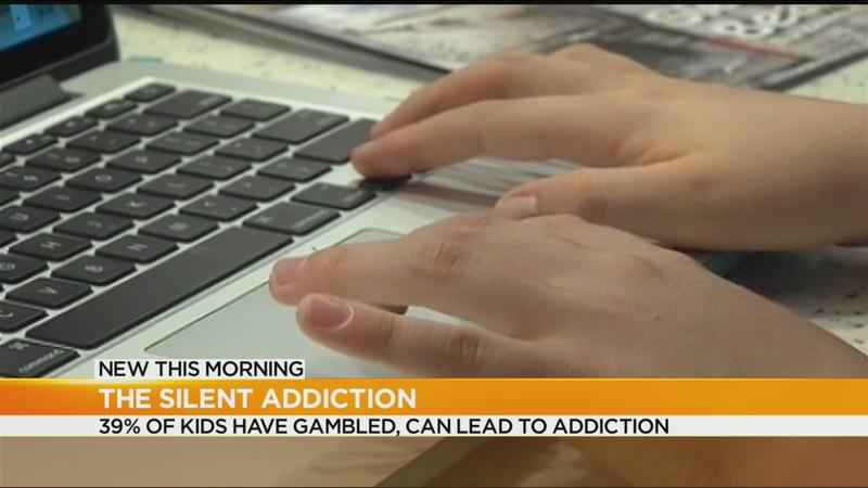 More children becoming addicted to gambling