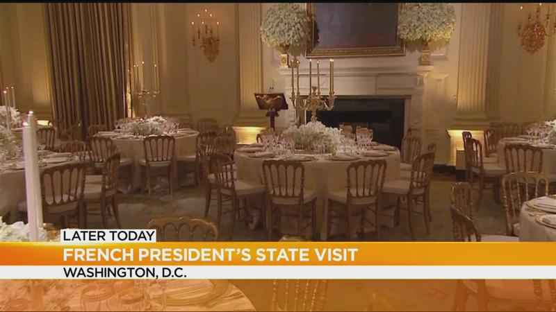 Trump prepares to host his first state dinner