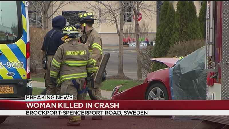 Woman killed in three-car crash in Sweden