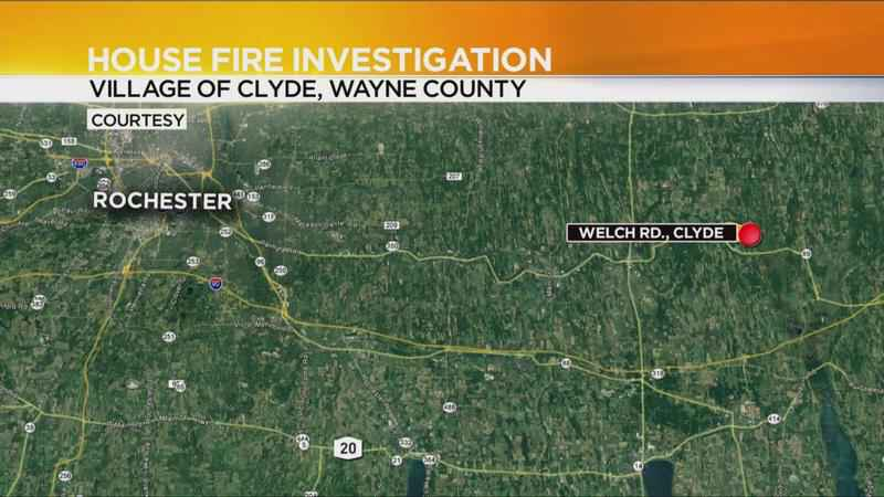 Crews investigating house fire in Wayne County