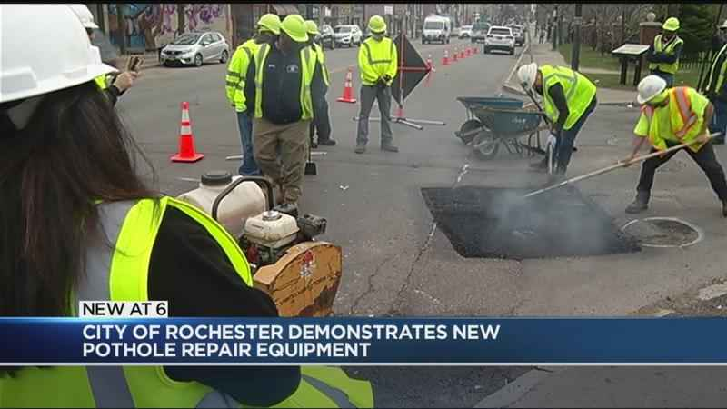 New technology to fix Rochester pothole problems
