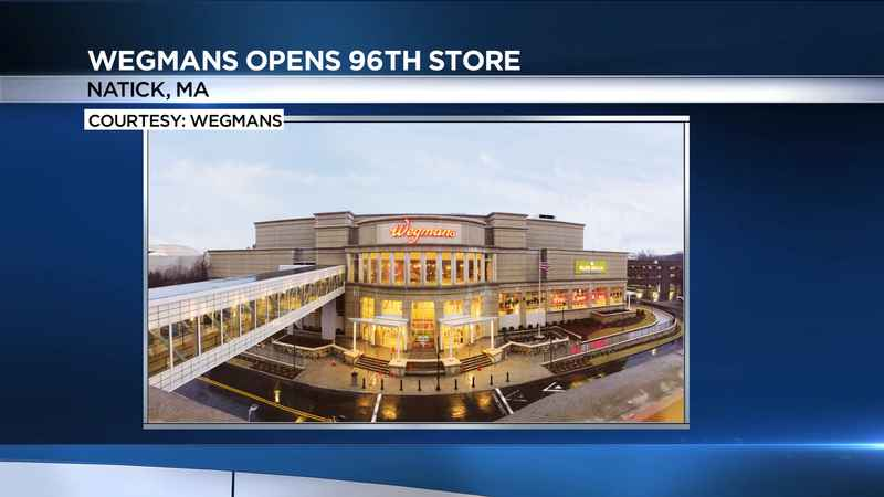 Wegmans plans to open its 96th store on Sunday