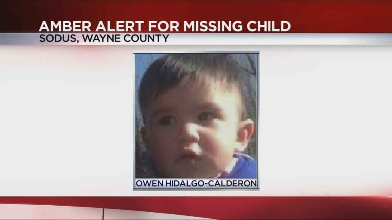 Amber Alert issued for missing toddler in Wayne County