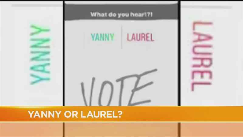 'Yanny' or 'Laurel': What do you hear in this audio recording?